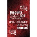 Dark chocolate cranberry cookies